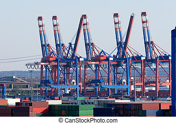 Container Terminal Hamburg - The port of Hamburg is the...