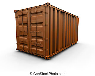 container, vracht