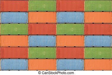 containers, expeditie