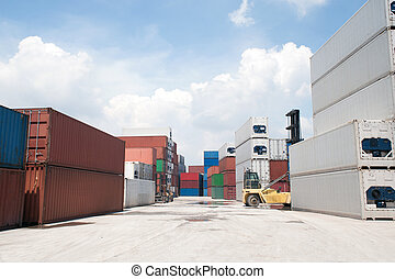 containers., kazal, rakomány