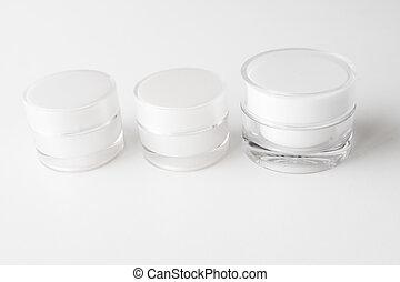 containers., kosmetyk krem
