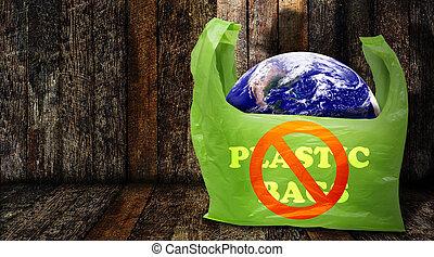 contaminación, problema, concepto