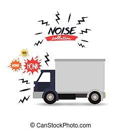 contaminación ruido, diseño