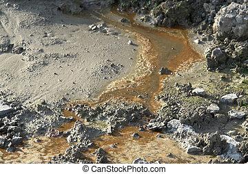 contaminado, suelo