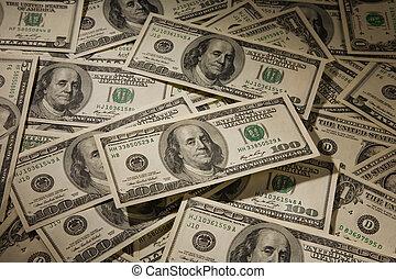 contas, dólar