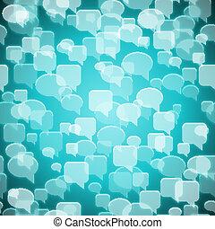 contato, fundo, social