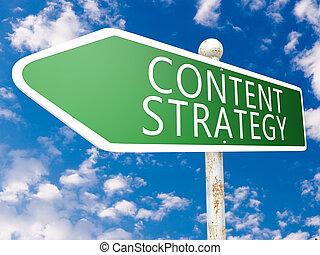 conteúdo, estratégia
