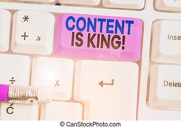 conteúdo, visibilidade, non, conceito, letra, marketing, pago, results., significado, texto, king., crescendo, busca, focalizado