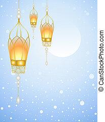 conte, fée, lanterne