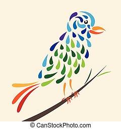 conte, fée, oiseau