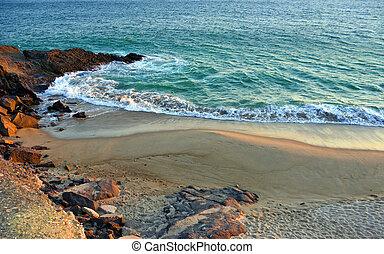 contea, ventura, ca, spiagge