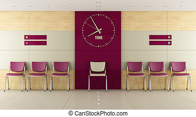 contemorary, αίθουσα αναμονής