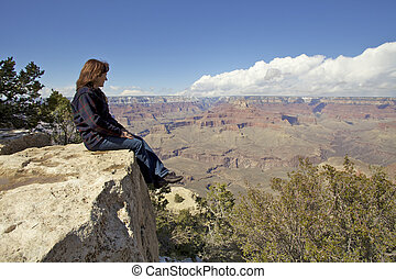 Contemplating the Canyon