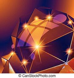 contemporaneo, luminoso, fondo, puntino, textured, dimensionale, deformare