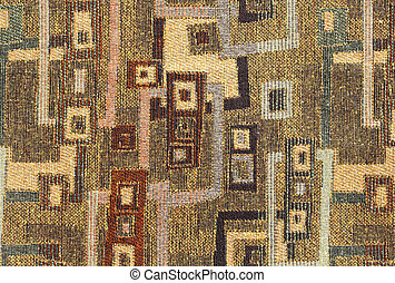 Background Pattern - Contemporary Abstract Cloth Fabric...