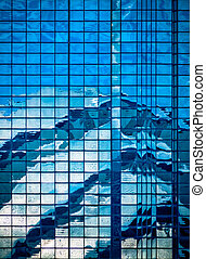 Contemporary Architecture Abstract Reflection