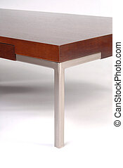 Contemporary coffee table detail