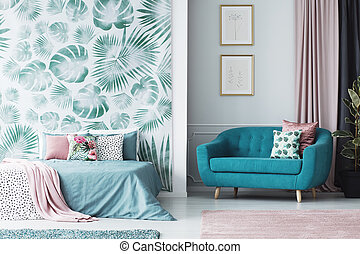 Contemporary design open space interior - Contemporary...