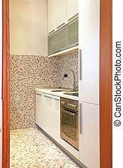 Contemporary kitchen detail