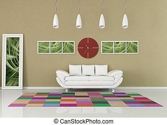contemporary - living room