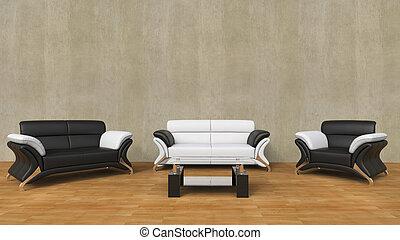 Contemporary Living Room Light