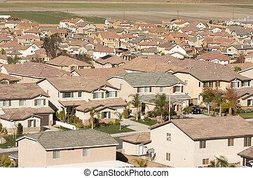 Contemporary Suburban Neighborhood