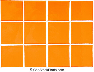 Contemporary yellow Tile glossy mosaic Earthenware material