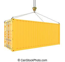 contenedor carga