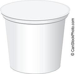 contenedor, plástico