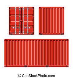 contenedores carga, envío