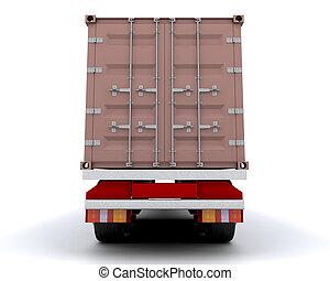 conteneur transport