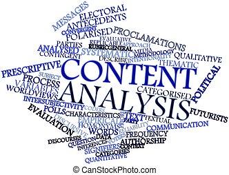 contenido, análisis