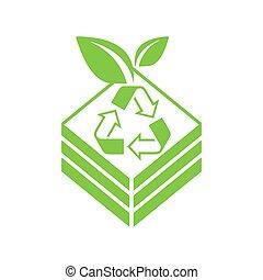 contenitore, organico, bidone, -, concime, fertilizzante
