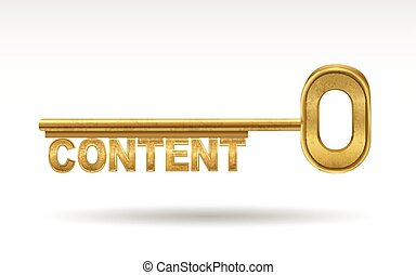 content - golden key