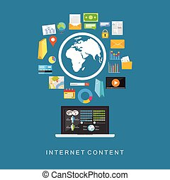 content., internet, cyfrowy, services.