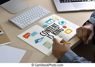 CONTENT IS KING seo search engine optimization and content...