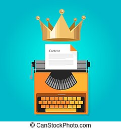 content is king seo web optimization