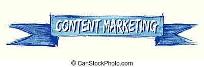 content marketing ribbon