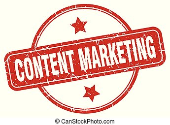 content marketing sign