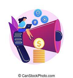 Content marketing vector concept metaphor - Content ...