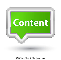 Content prime soft green banner button