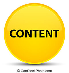 Content special yellow round button