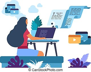 Content writer. Media creator and online freelance article ...