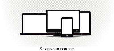 contenu, style, résumé, moderne, transparent, gadgets, arrière-plan., gabarit, écran blanc, n'importe quel