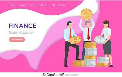contenuto, finanza, ranking, aumento, linea, optimize
