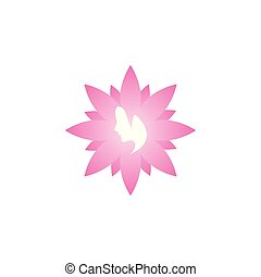 contest - Spa aesthetic woman logo icon design template...