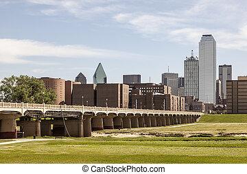 Continental Avenue Pedestrian Bridge in Dallas, USA