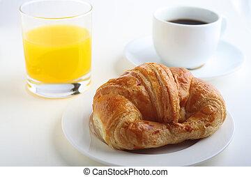 Continental breakfast horizontal