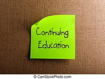 continuando educação