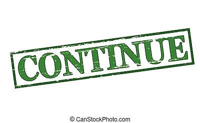 Continue Vector Clipart EPS Im...